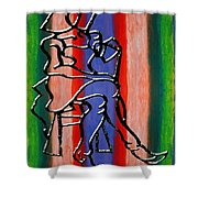 Abstraction 232 Shower Curtain by Patrick J Murphy