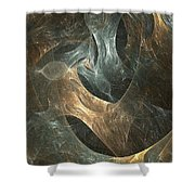 Abstraction 244-03-13 Marucii Shower Curtain