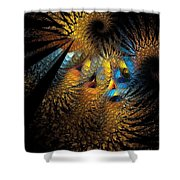 Abstraction 252-05-13 Marucii  Shower Curtain