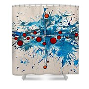 Abstraction 36 Shower Curtain