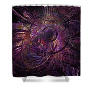 Abstraction 426-08-13 Marucii Shower Curtain