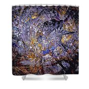Abstraction 472-09-13 Marucii Shower Curtain