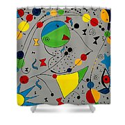 Abstraction 575 - Marucii Shower Curtain