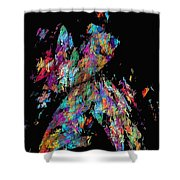 Abstraction 587 - Marucii Shower Curtain
