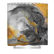 Abstraction 590-11-13 Marucii Shower Curtain
