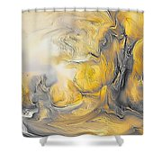 Abstraction 592-11-13 Marucii Shower Curtain