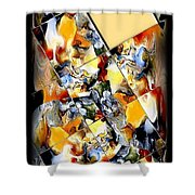 Abstraction 596-11-13 Marucii Shower Curtain