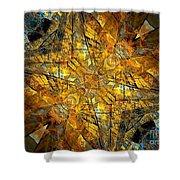 Abstraction 634-12-13 Marucii Shower Curtain