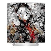 Abstraction 664 - Marucii Shower Curtain