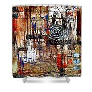 Abstraction 758 - Marucii Shower Curtain
