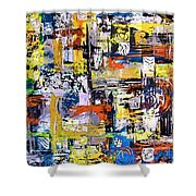 Abstraction 759 - Marucii Shower Curtain