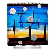 Abstraction - IIi - Shower Curtain