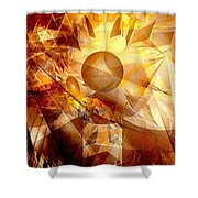 Abstraction072-13 Marucii  Shower Curtain