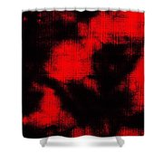 Abtract Batik Pattern Shower Curtain