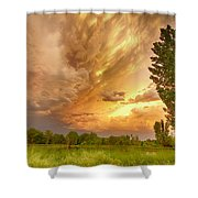 Abyss In The Sky Shower Curtain