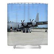 Ac-130j Ghostrider At Hurlburt Field Shower Curtain