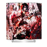Ac Dc Original  Shower Curtain