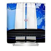 Ac Shelby Cobra Grille - Hood Emblem Shower Curtain