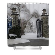 Academy Of Notre Dame - School For Girls Shower Curtain