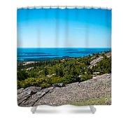 Acadia Blue Shower Curtain