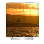 Acadia Lighthouse  Shower Curtain