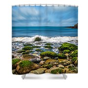 Acadia Ocean Breeze Shower Curtain