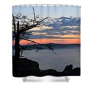 Acadia Sunrise 2 Shower Curtain
