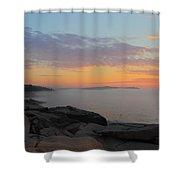 Acadia Sunrise 5 Shower Curtain