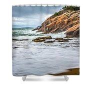 Acadia Surge Shower Curtain