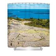 Acadia Views Shower Curtain