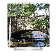 Acadian Stream_100_1934 Shower Curtain
