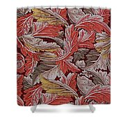 Acanthus Leaf Shower Curtain