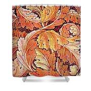 Acanthus Vine Design Shower Curtain by William Morris