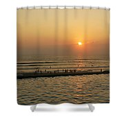 Acapulco Gold Shower Curtain