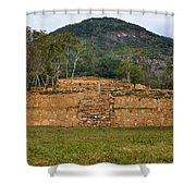 Acapulco Mexico Archaeological Site Shower Curtain