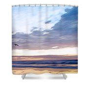 Accelerate Shower Curtain