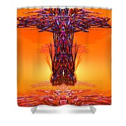 Accend 21 Shower Curtain