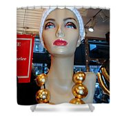 Accent Necklace Shower Curtain
