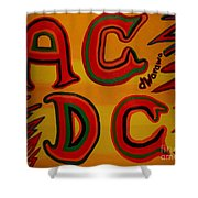 Acdc Shower Curtain