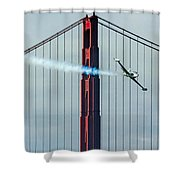 Ace Maker And The Golden Gate Shower Curtain