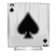 Ace Poster Shower Curtain