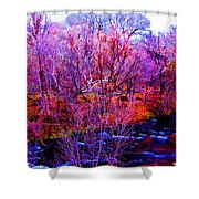 Acid By The Creek Shower Curtain