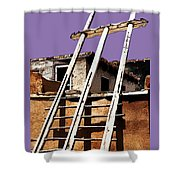 Acoma Pueblo Shower Curtain
