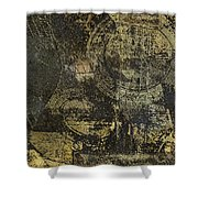 Acoustic Grunge Guitar 1 Shower Curtain