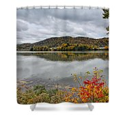 Across The Ohio River Shower Curtain