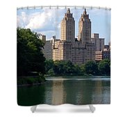 Across The Reservoir Shower Curtain