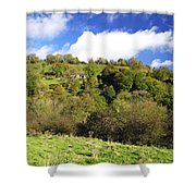 Across The Southern End Of Monk's Dale Shower Curtain