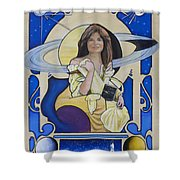 Across The Universe - Carolyn Porco Shower Curtain