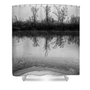 Across The Water Shower Curtain by Davorin Mance