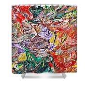 Acrylic  Madness Shower Curtain